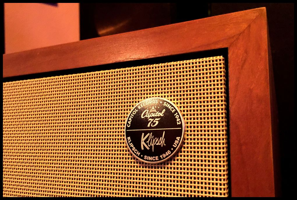 Klipsch Heritage Line Up , The Klipsch Capitol Records Heresy III Limited Edition , sehr cool !