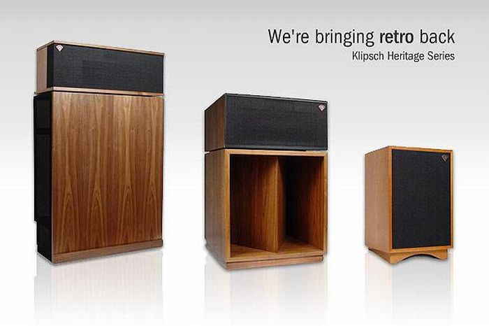 Klipsch Heritage Line-up - back to the roots and retro back by Werner Enges Atmsophere-Klipsch .